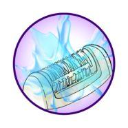 Abwaschbarer Epilierkopf für perfekte Hygiene