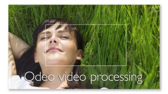 Procesare video Qdeo™ pentru filme în cea mai pură formă