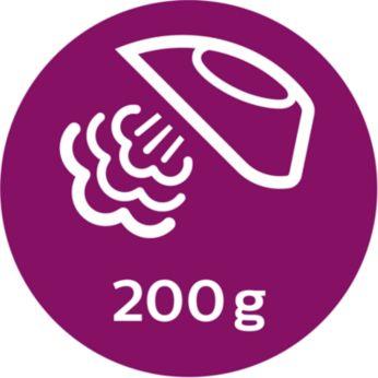 Jet de abur de până la 200 g