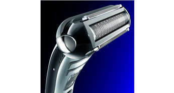 Integrated trim & shave head for a close shave in one stroke