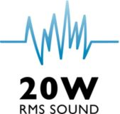 20 W RMS Incredible Surround Sound