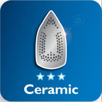 Керамическая подошва для лучшего скольжения по ткани