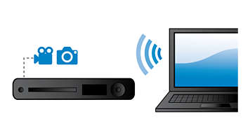DLNA Network Link to enjoy photos and videos from your PC