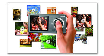 Integrated camera for snapshots and video recording
