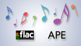 FLAC and APE playback