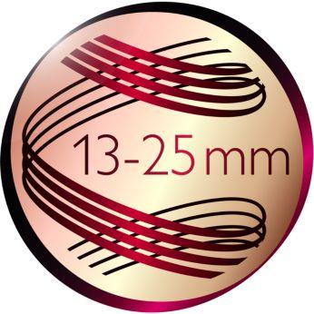 Коническая насадка для моделирования различных по форме кудряшек и волн