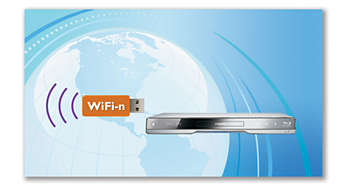Wi-Fi-n Ready* for faster, wider wireless performance