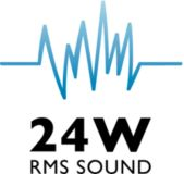 24 W de RMS e Incredible Surround