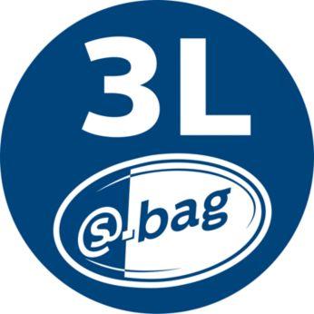 s-bag объемом 3литра для продолжительного сбора пыли