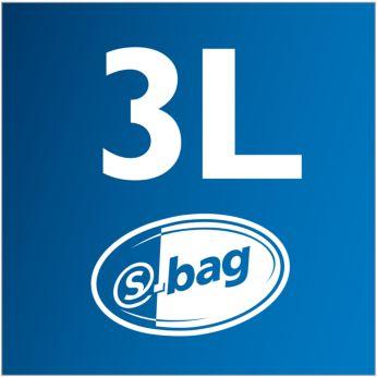 S-bag XXL de 3 litri pentru performanţă durabilă