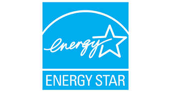 Energy Star rated for low power consumption
