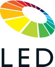 LED technology ensures natural color and thin design