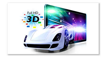 Blu-ray 3D Disc playback for a full HD 3D experience at home