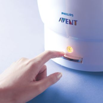 how to clean philips avent steriliser