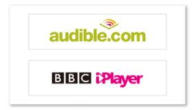 Audible und BBC iPlayer