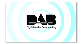 DAB for a clear and crackle-free radio experience