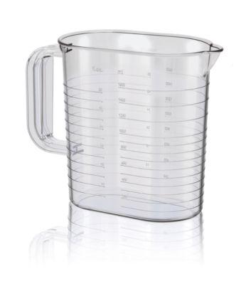 Овальный стакан 1,7л для приготовления пищи и хранения аксессуаров