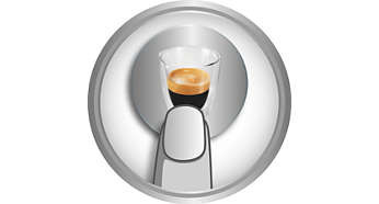 Espresso « bean-to-cup » d'une simple pression sur un bouton