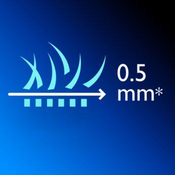 20 regulações de comprimento fáceis de seleccionar e bloquear de 0,5 a 10mm