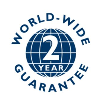 2-year global warranty