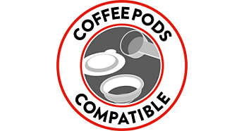 Coffee-pod compatible