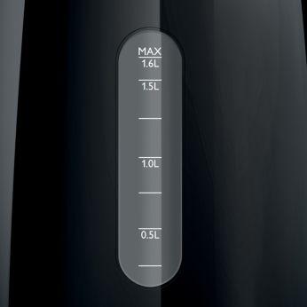 Indicatoare de nivel al apei uşor de citit pe ambele părţi