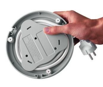 Приспособление для сматывания шнура обеспечивает удобное хранение