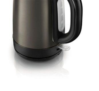 Когда чайник включен, загорается подсветка