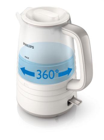Bază Pirouette 360° fără fir pentru ridicare şi amplasare uşoare