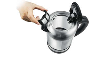 Antikalkfilter voor een kopje helder water