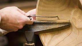 Акустическая система из дерева ручной работы