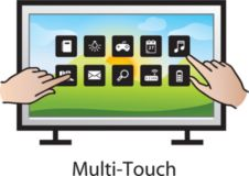 Optical multi-touch