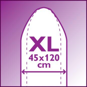 Išlyginkite daugiau vienu metu: XL form. lenta