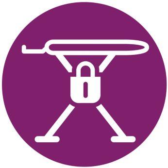 Sukurtas saugumui: nuo vaikų apsaugantis ir transportuoti skirtas užraktas