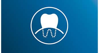 Tryb delikatnego czyszczenia zębów i dziąseł