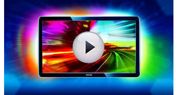 Ambilight Spectra 3-sided intensifies the viewing experience