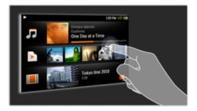 Capacitive touch-screen