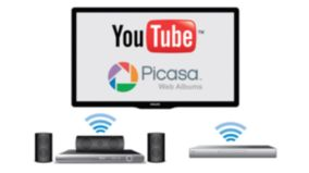 Access YouTube and Picasa