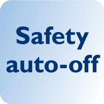 Выключается автоматически в целях безопасности и энергосбережения