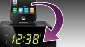 Sincronização automática do relógio