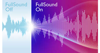 FullSound per dare vita alla tua musica in MP3