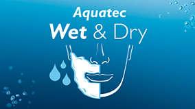 Islak ve kuru tıraş özellikli Aquatec