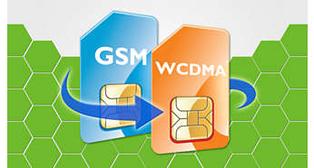 Dual mode (WCDMA and GSM), dual coverage