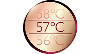 Оптимальная температура сушки волос благодаря технологии ThermoProtect
