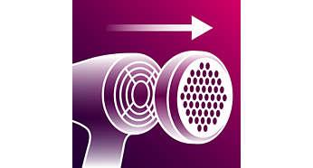 Подвижният въздушен филтър предотвратява захващането на коса