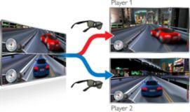3D Max İki Kişilik Tam Ekran
