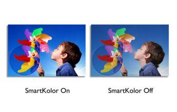 Zengin, canlı görüntüler için SmartKolor