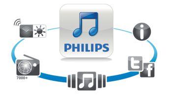 Aplicaţie gratuită DockStudio pentru radio prin Internet şi alte funcţii interesante