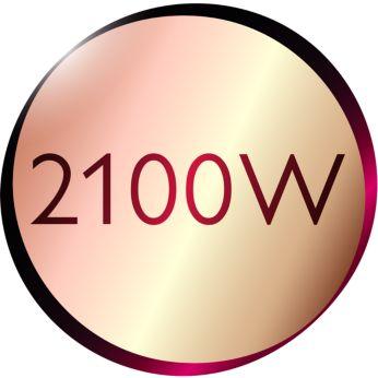 Фен: мощность 2100Вт для объемной укладки как в салоне красоты