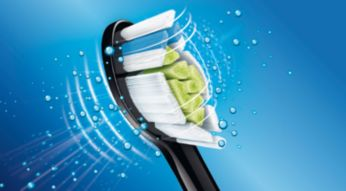 DiamondClean toothbrush head for Sonicare's best whitening